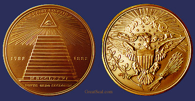 Great Seal Centennial Medal of 1882