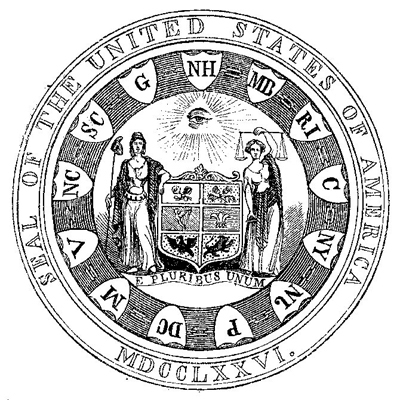 First Committees Design For Americas Great Seal 1776