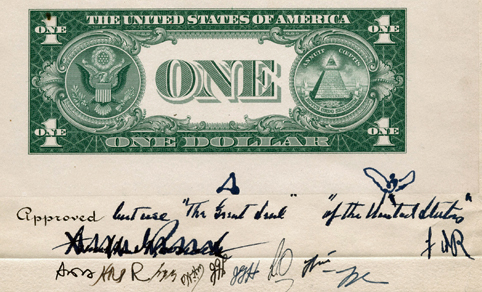 How The Great Seals Pyramid Eye Got On The One Dollar Bill In 1935