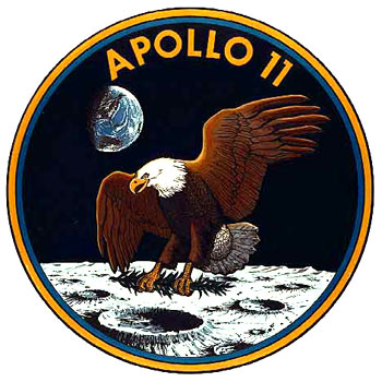 Peace On Moon The Eagle Has Landed With An Olive Branch